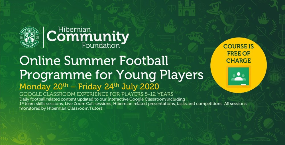 Read: Online Summer Football Programme for Young Players