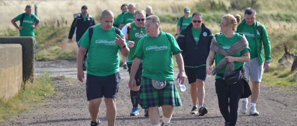 Kiltwalk 2021 - Walk for Hibernian Community Foundation